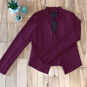 Dynamite Burgundy Girlfriend Blazer